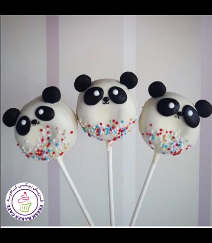 Panda Themed Donut Pops 02