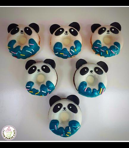 Panda Themed Donuts 1