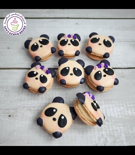 Panda Themed Macarons