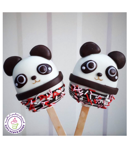 Panda Themed Popsicakes 01