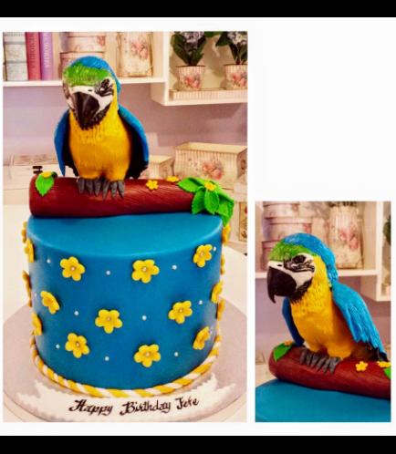 Parrot Themed Cake 01