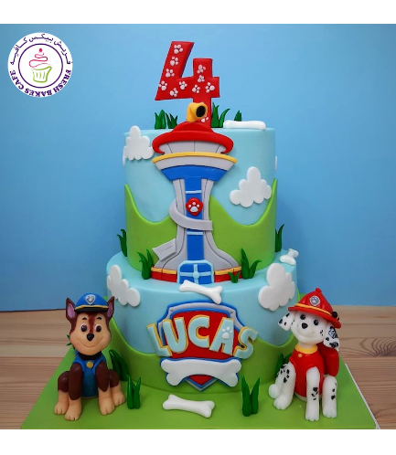 Cake - 3D Cake Toppers - 2 Tier 04