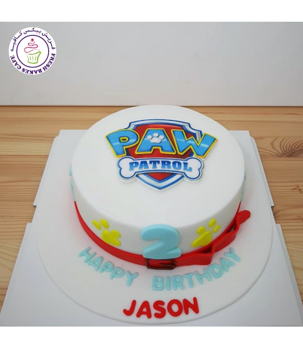 Cake - Logo - Printed Picture - 1 Tier 07