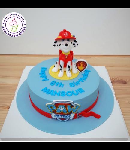 Cake - Marshall - 3D Cake Topper - 1 Tier 02