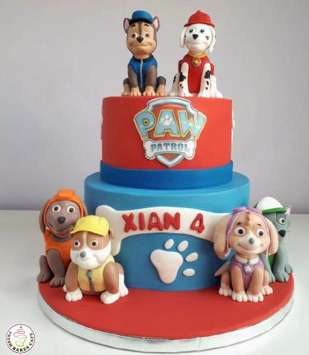 Paw Patrol Themed Cake 10b