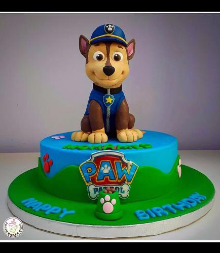 Cake - Chase - 3D Cake Topper