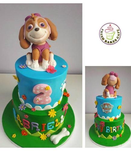 Cake - Sky - 3D Cake Topper - 2 Tier 02