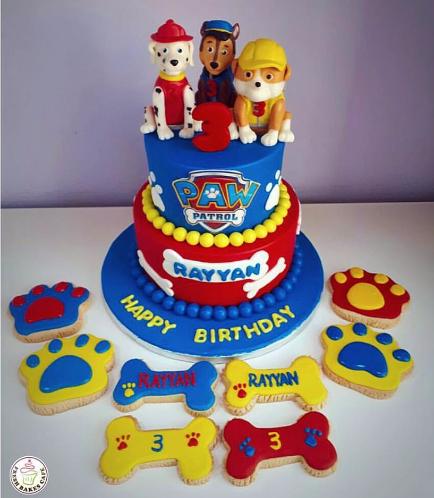 Paw Patrol Themed Cake 14