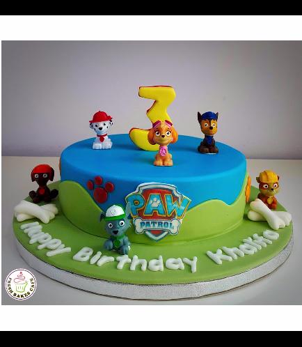 Paw Patrol Themed Cake 15