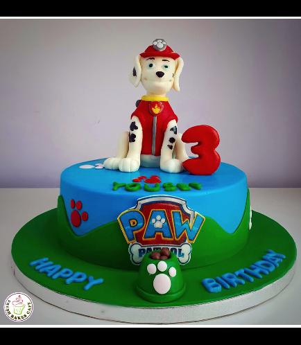 Paw Patrol Themed Cake 18