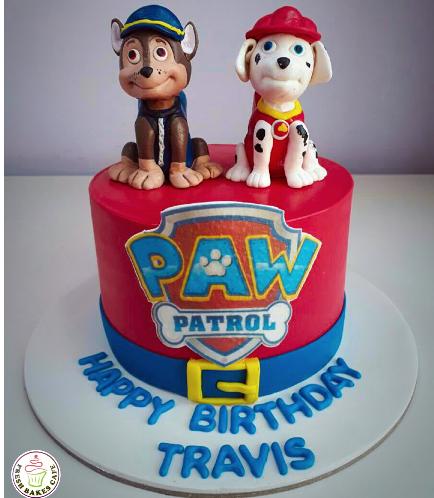 Paw Patrol Themed Cake 19
