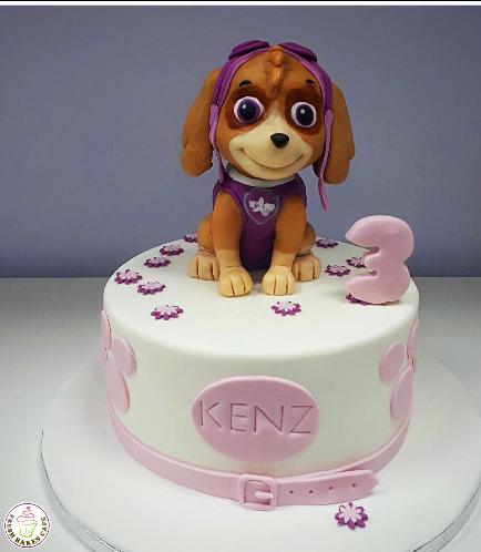 Cake - Sky - 3D Cake Topper - 1 Tier 02