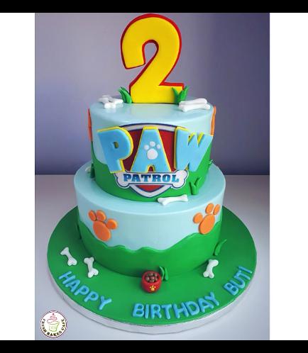 Cake - Logo - 2D Fondant Picture - 2 Tier