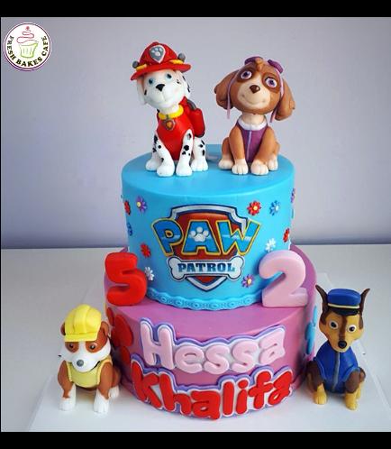 Paw Patrol Themed Cake 26a
