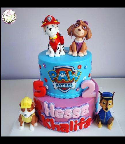 Cake - Paw Patrol 01a