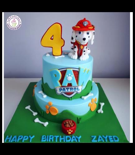 Cake - Marshall - 3D Cake Topper - 2 Tier