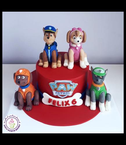 Paw Patrol Themed Cake 29