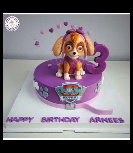 Cake - Sky - 3D Cake Topper - 1 Tier 03