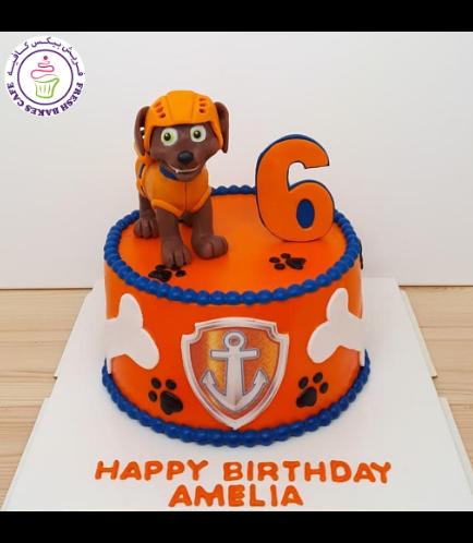 Cake - Zuma - 3D Cake Topper