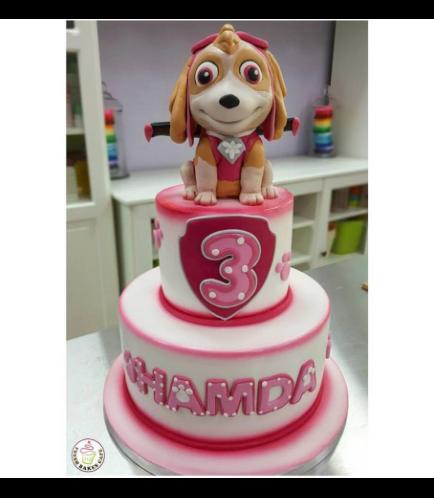 Cake - Sky - 3D Cake Topper - 2 Tier 01