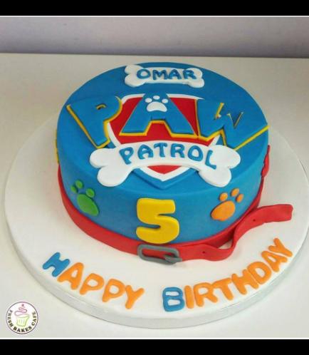 Cake - Logo - 2D Fondant Picture - 1 Tier 02