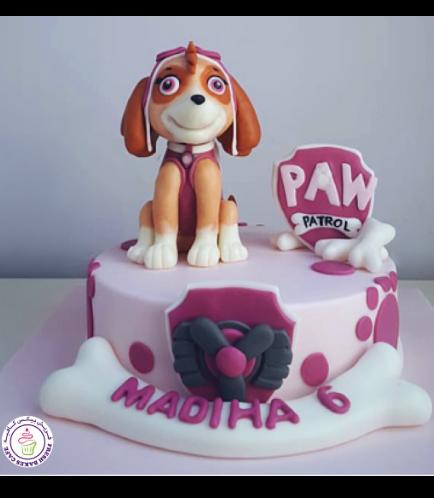 Cake - Sky - 3D Cake Topper - 1 Tier 01