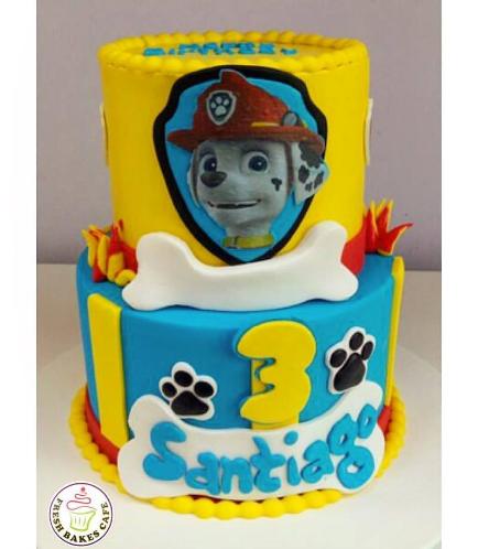 Paw Patrol Themed Cake 06