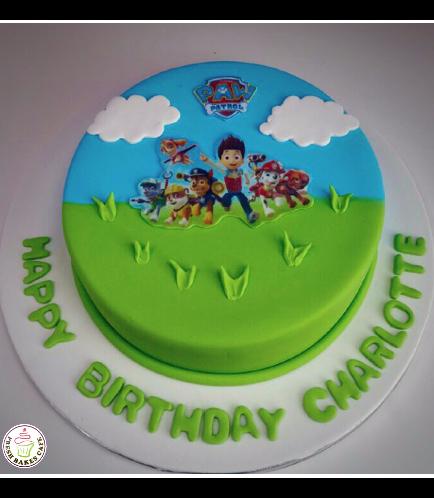 Paw Patrol Themed Cake 02