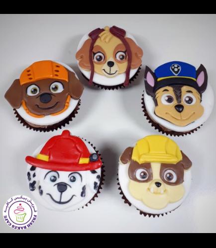 Cupcakes - 2D Fondant Cupcake Toppers 02