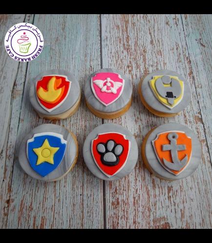 Paw Patrol Themed Donuts - Logos