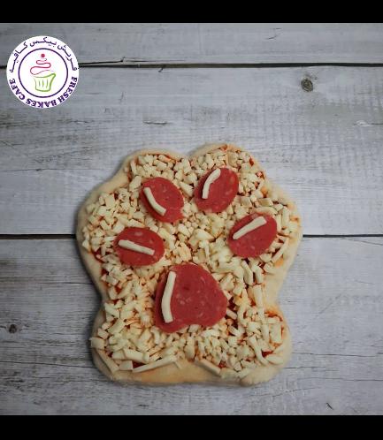 Pizza - Paw Print
