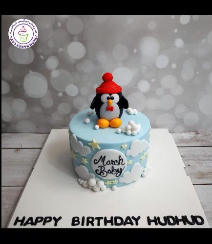 Penguin Themed Cake - 3D Cake Topper 03