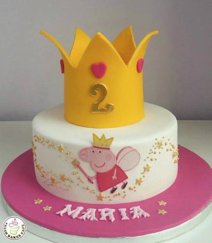 Peppa Pig Themed Cake 10