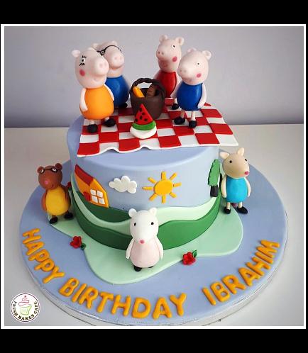 Peppa Pig Themed Cake 11