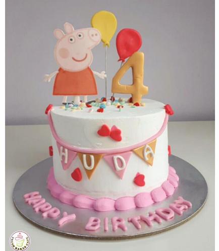 Peppa Pig Themed Cake 12a