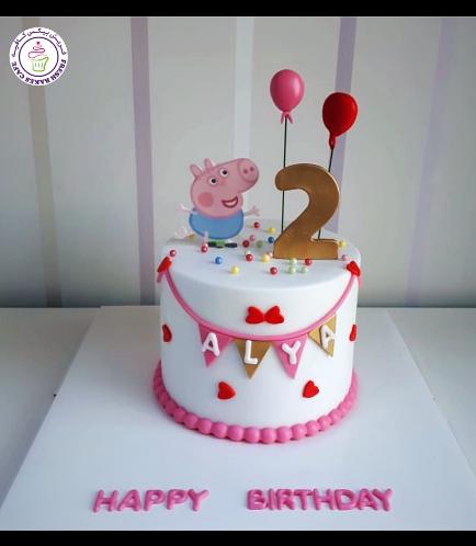 Peppa Pig Themed Cake 12b