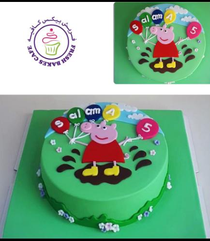 Peppa Pig Themed Cake 13