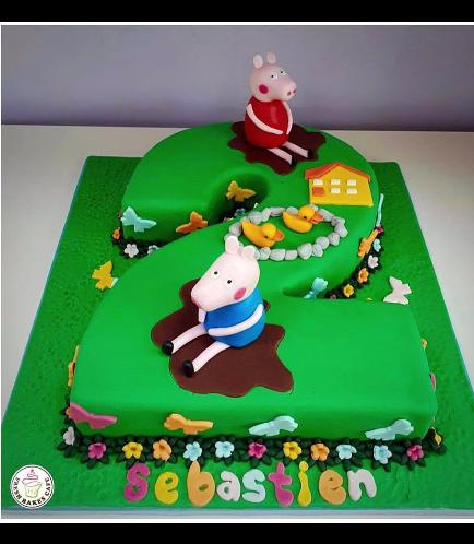 Peppa Pig Themed Cake 15