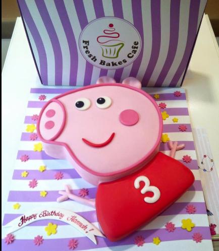 Cake - Peppa Pig - 2D Cake