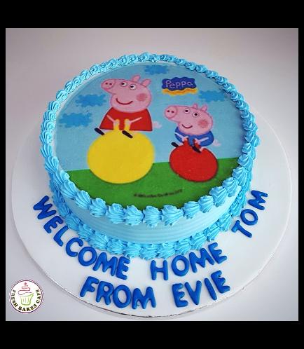 Peppa Pig Themed Cake 18