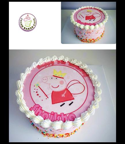 Cake - Picture - Printed Picture - Cream Cake 03