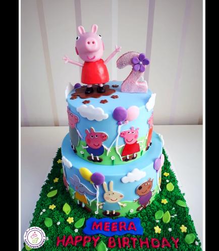 Peppa Pig Themed Cake 23a