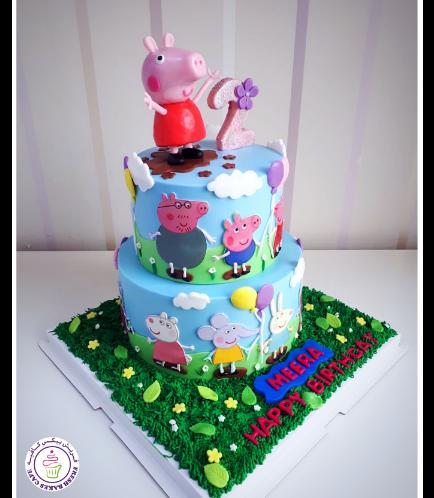 Peppa Pig Themed Cake 23b