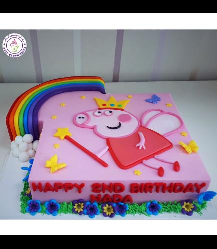 Peppa Pig Themed Cake 24