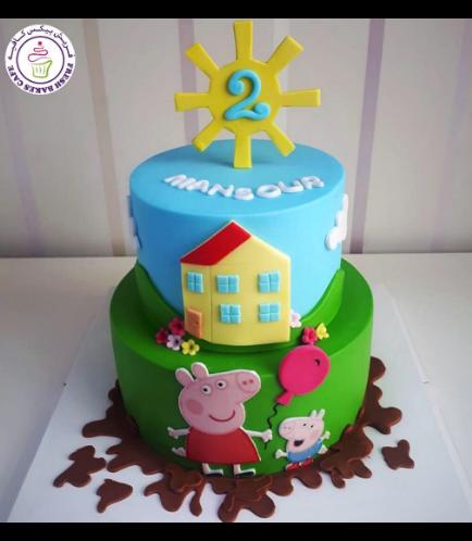 Peppa Pig Themed Cake 25