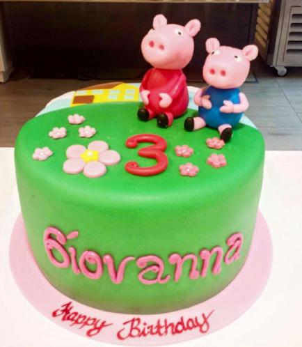 Peppa Pig Themed Cake 05