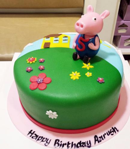 Peppa Pig Themed Cake 06