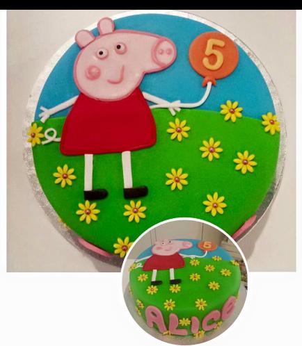 Peppa Pig Themed Cake 09