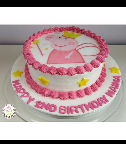 Peppa Pig Themed Cake 02b