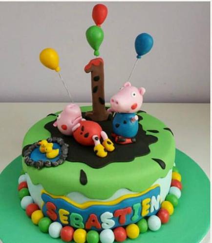 Peppa Pig Themed Cake 04